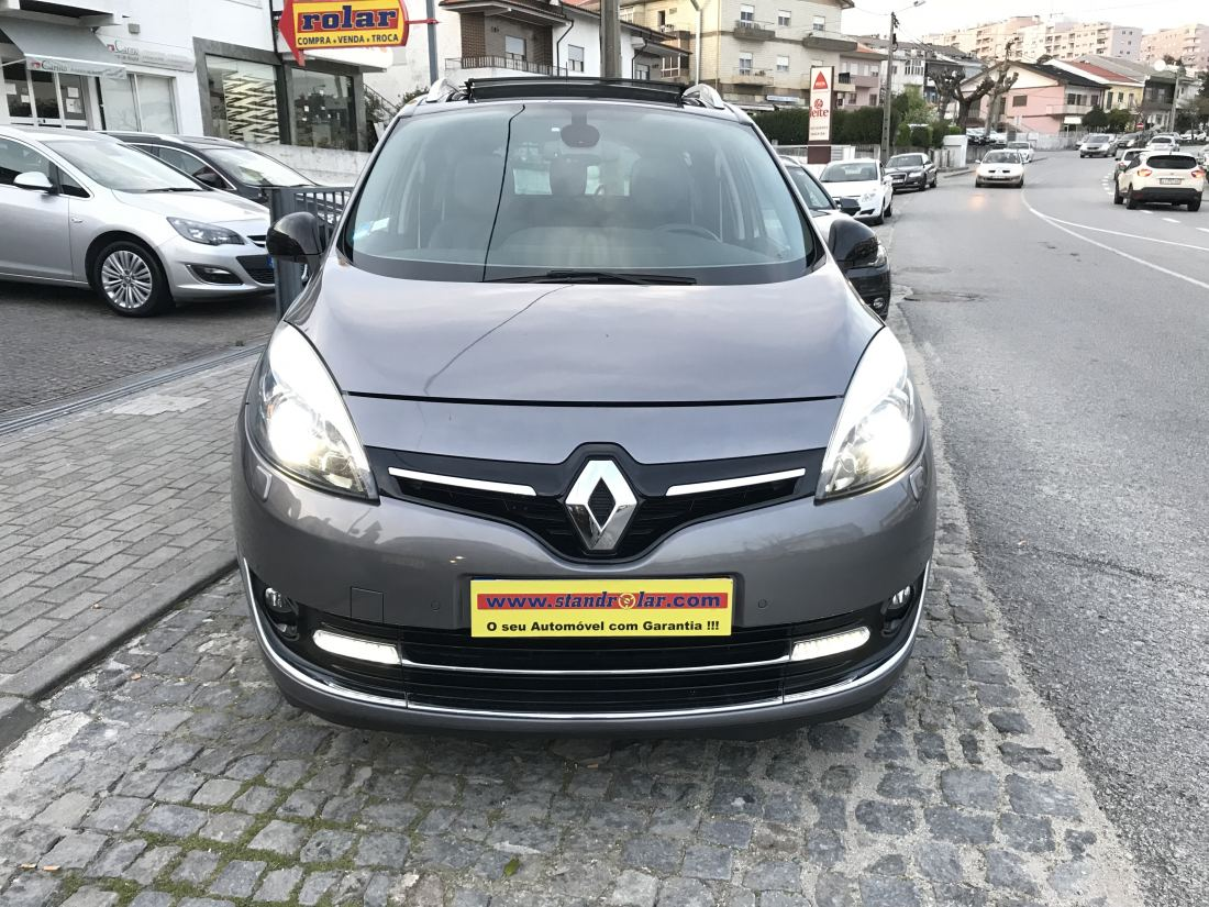 renault grand scenic 1 6 dci 130cv bose edition nacional stand rolar. Black Bedroom Furniture Sets. Home Design Ideas